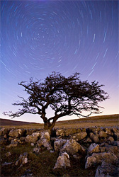 Star Trails at Twisleton Scar