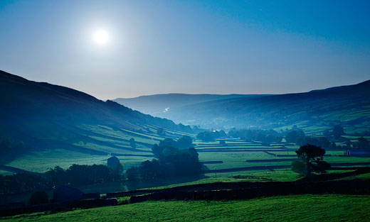 swaledale by moonlight