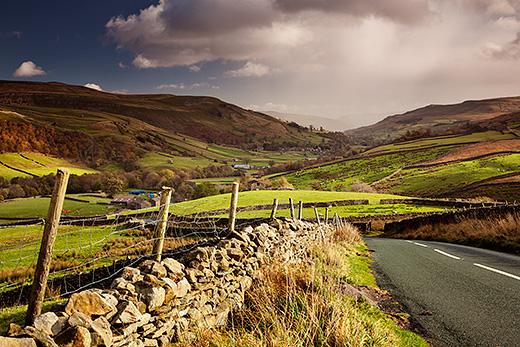 swaledale sun and showers