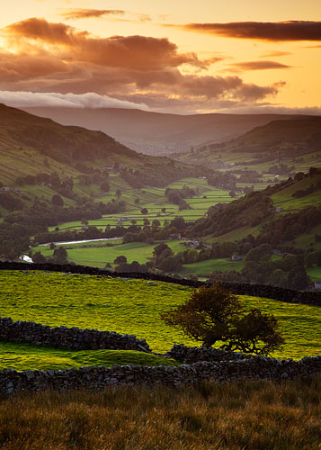 swaledale sunset