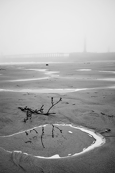 Whitby Beach Fog